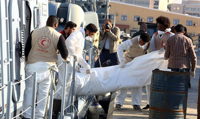 Dozens of migrants drown off Libyan coast