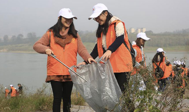 Number of volunteers keeps growing in Chongqing