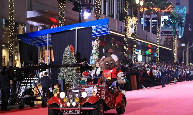 86th annual Hollywood Christmas Parade held in Los Angeles