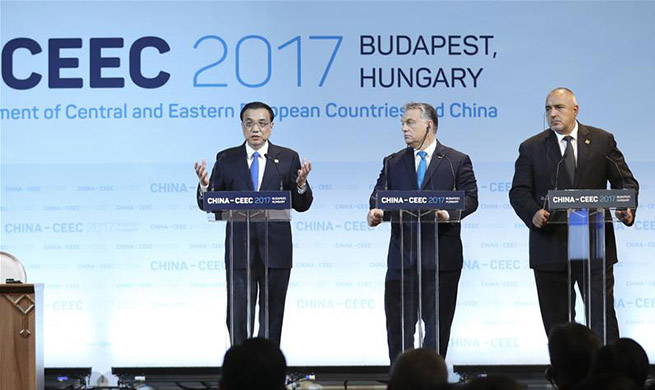 Chinese premier proposes five initiatives to advance cooperation  with CEE countries