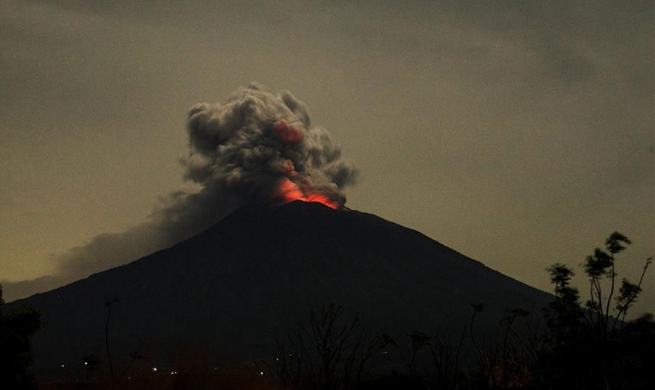 Indonesia raises alert for Mount Agung volcano to highest level 4