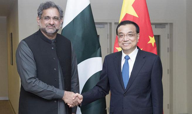 China, Pakistan pledge more efforts to build economic corridor