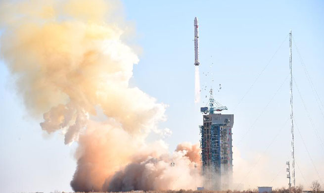 China launches land exploration satellite
