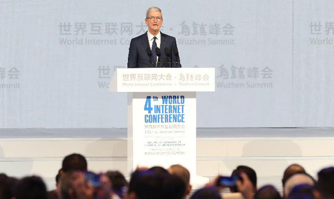 Guests address opening ceremony of 4th World Internet Conference