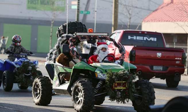 Chicagoland Toys for Tots Motorcycle Parade held in U.S.