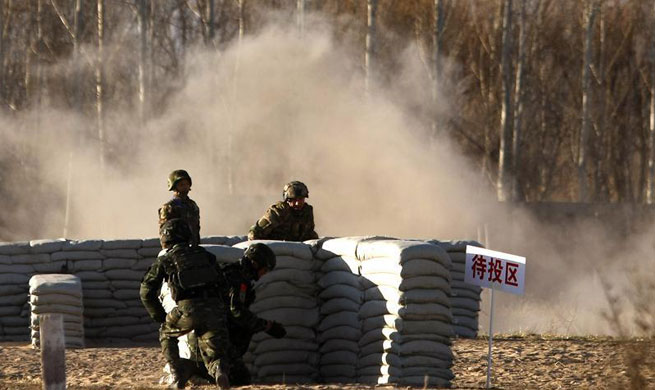 China-Russia joint anti-terror drill held in Yinchuan