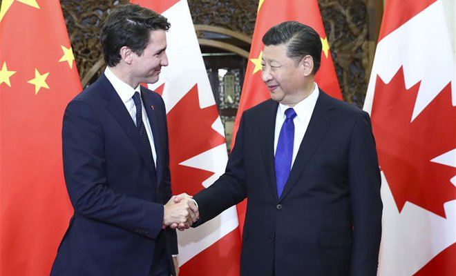 Xi asks China, Canada to work for substantial ties
