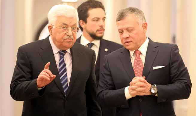 Jordan voices full support to Palestine on Jerusalem issue