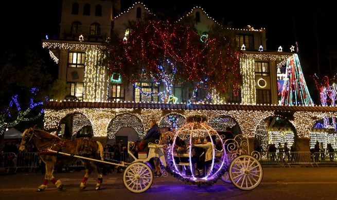 25th Festival of Lights held in Riverside, U.S.