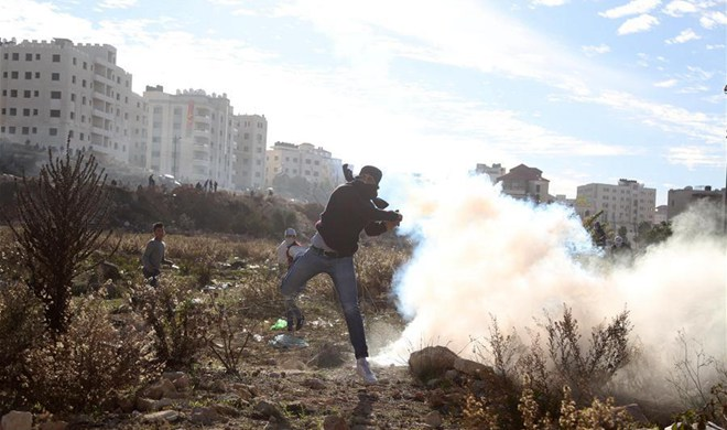 Protesters clash with Israeli security forces across West Bank