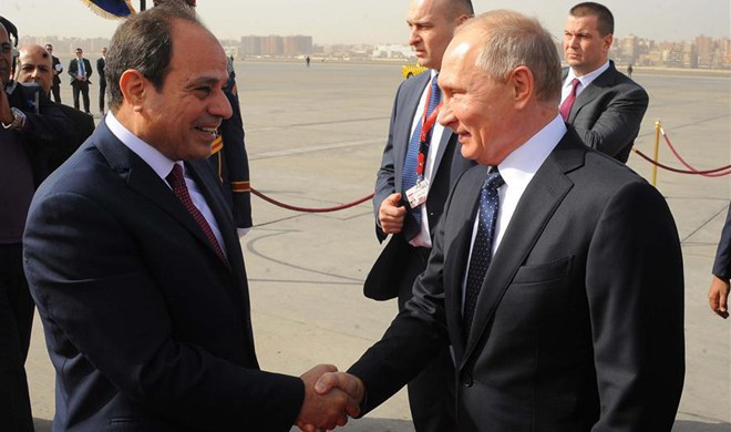 Sisi, Putin tackle wide-range thorny issues fueling regional chaos