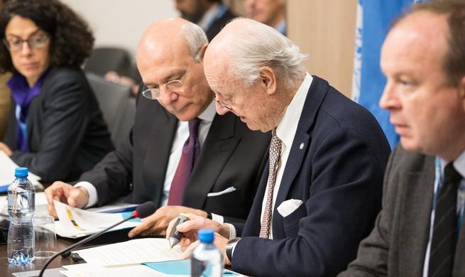 Syrian gov't delegation returns to Geneva peace talks