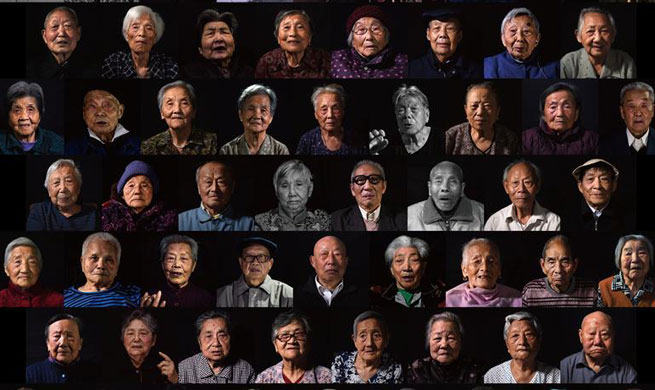 Pic story: Survivors of Nanjing Massacre
