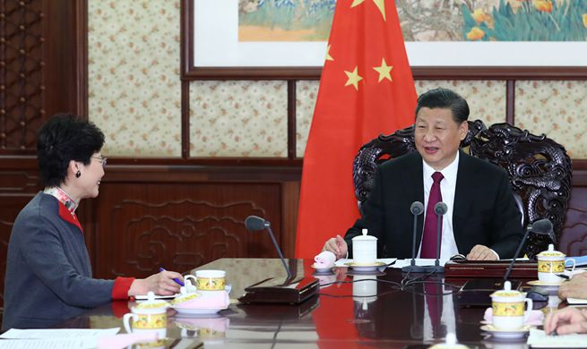 "Xi underscores unswerving adherence to ""one country, two systems"""