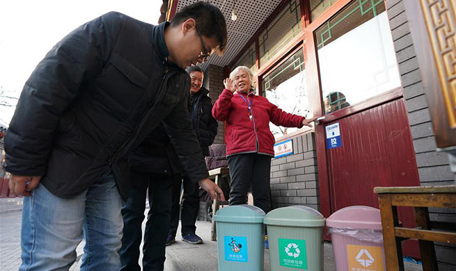 Pic story: street chiefs manage enviroment, order of streets in Beijing
