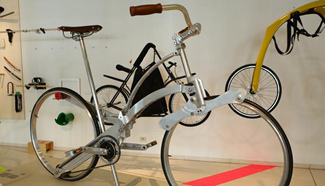 Bike To The Future Exhibition Held In Brussels Belgium Xinhua