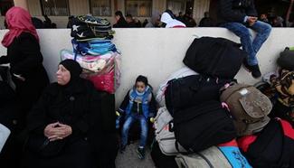 Egyptian authorities open Rafah crossing border with Gaza Strip