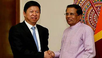 Senior CPC official meets Sri Lankan top leaders