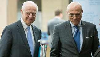 Latest round of Syria peace talks kicks off in Geneva
