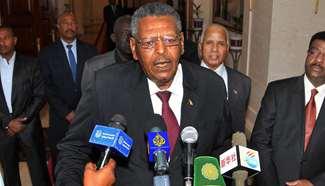 SudaneseFirstVice-PresidenttakesoathasPM