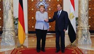 Egypt's Sisi, Germany's Merkel discuss illegal migration, terrorism