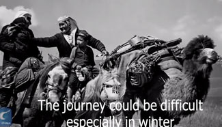Migration of nomads in China's Xinjiang