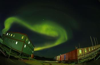 In pics: Aurora australis in sky over Zhongshan Antarctic Station