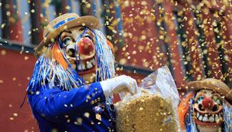 Carnival of Basel 2017 held in Switzerland