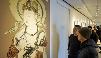 """Exhibition """"The Silk Road: Reflection of Mutual Learning"""" held in Beijing"""