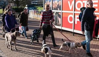 Annual Crufts dog show held in Birmingham, Britain