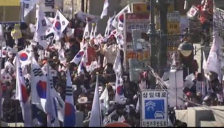 Supporters rally but fail to save Park Geun-hye from impeachment