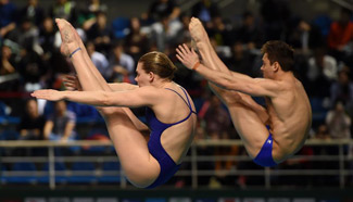FINA Diving World Series: Mixed 3m Synchronised Springboard event