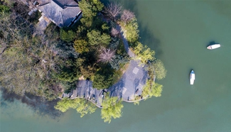 Spring scenery of Baohe Park in east China's Hefei