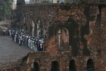 In pics: Feroz Shah Kotla Mosque in New Delhi, India