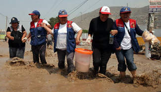 El Nino batters Peru with endless downpours
