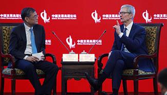 Highlights of China Development Forum 2017