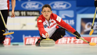 China defeated by Czech Republic at World Women's Curling Championship