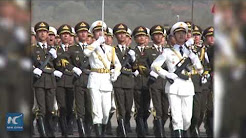 Chinese contingent joins in Pakistan Day military parade rehearsal