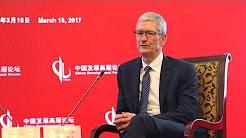 Apple's Tim Cook stresses R&D drive