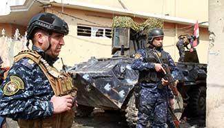 Iraqi forces strengthen control on newly-liberated areas in west Mosul