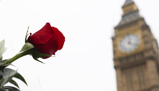 People commemorate victims of London terror attack