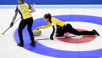World Women's Curling Championship semifinal: Russia beats Switzerland 9-3
