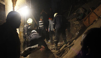 At least one dead, seven injured during building collapse in Cairo