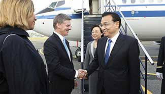 FTA upgrade tops agenda of Chinese Premier Li's visit to New Zealand