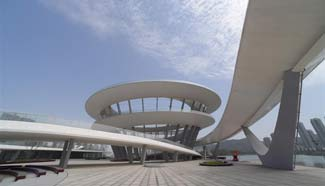 Spiral sightseeing platform to open to public in Changsha, central China