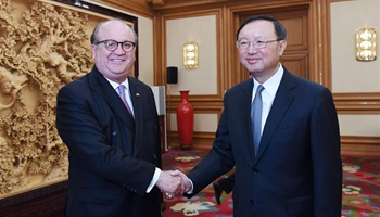 Chinese state councilor meets with delegation of Mexican governors