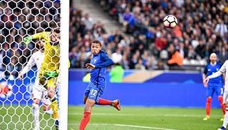Spain beats France 2-0 in friendly match