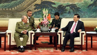 China vows to advance military ties with Cuba