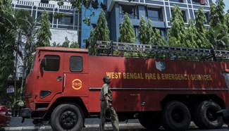Hotel fire kills at least 2 in India's eastern state of West Bengal
