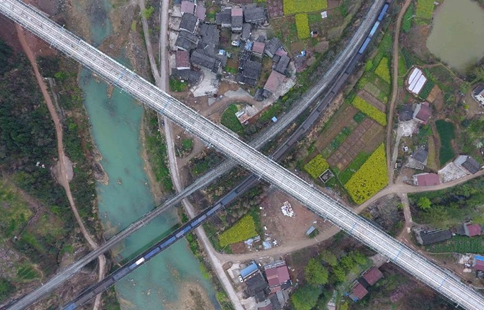 Construction of Xi'an-Chengdu high-speed railway to be completed